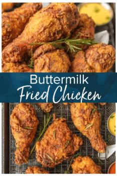 buttermilk fried chicken pinterest image