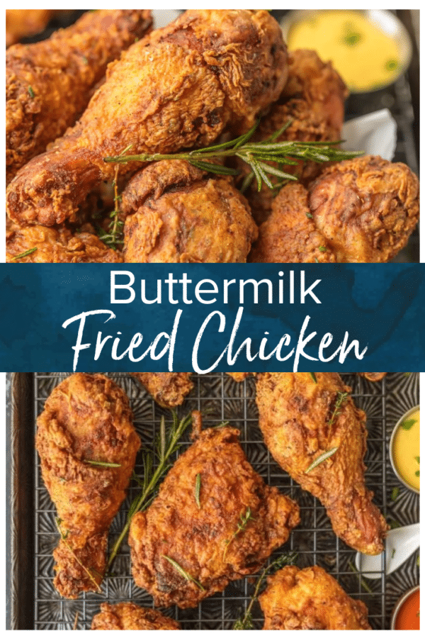 buttermilk fried chicken pinterest image