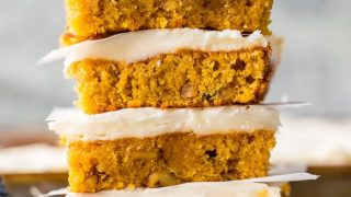 Carrot Cake Bars (Secret Ingredient!)
