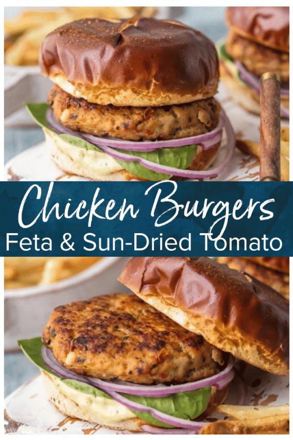chicken burger pinterest pic