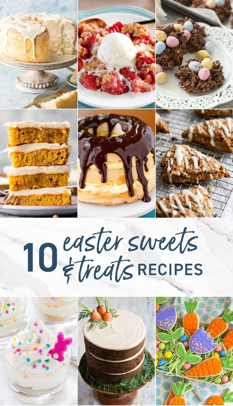 10 Easter Sweets and Treats Recipes