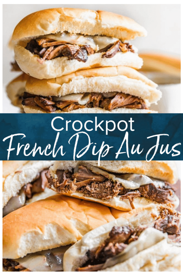 crockpot french dip pinterest pic