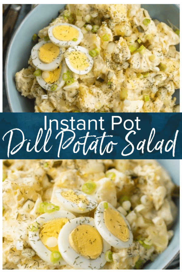 instant pot dill potato salad pinterest photo