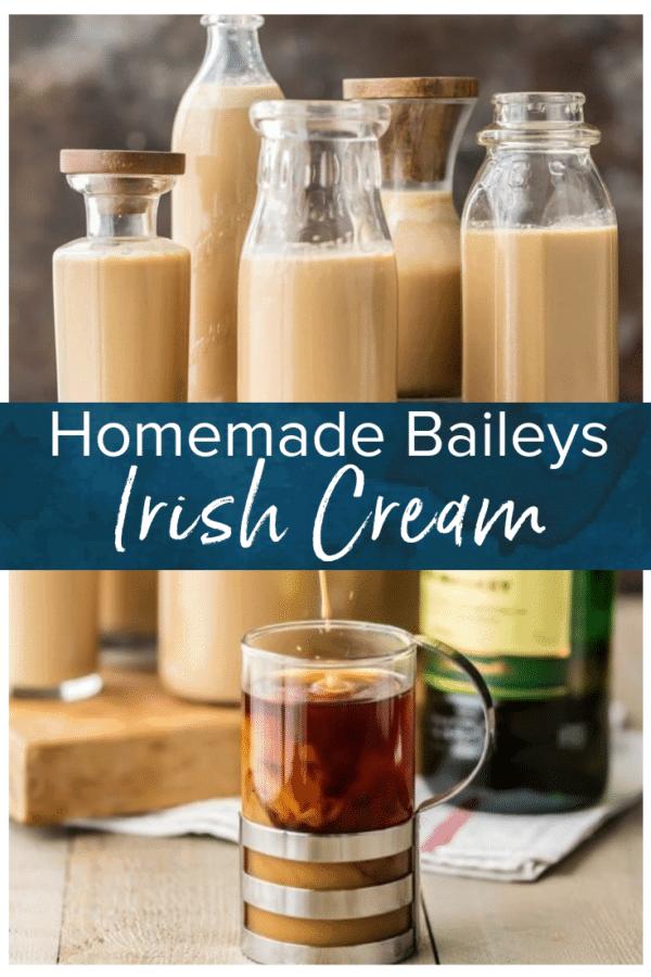 homemade irish cream pinterest photo