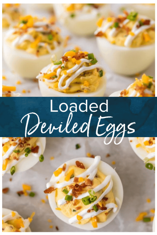 loaded deviled eggs pinterest pic