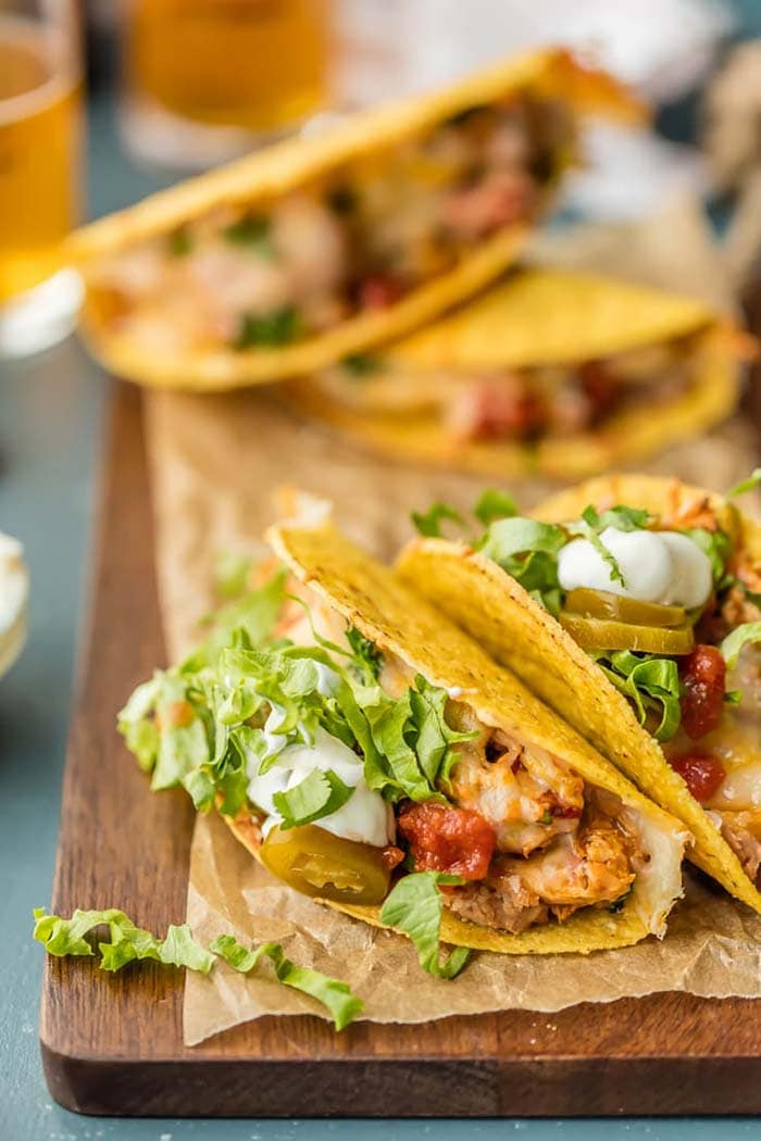 Oven Baked Spicy Chicken Tacos | The Cookie Rookie