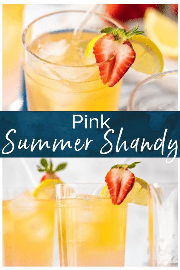 pink summer shandy pinterest photo