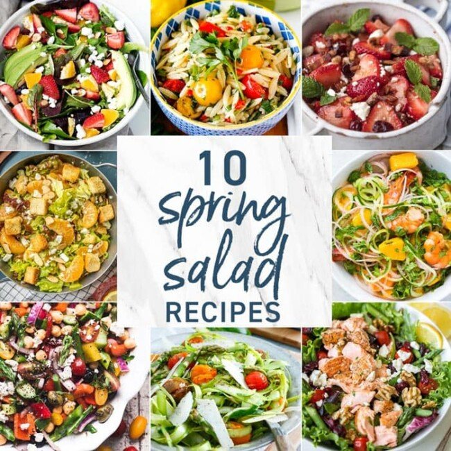 10 Spring Salad Recipes