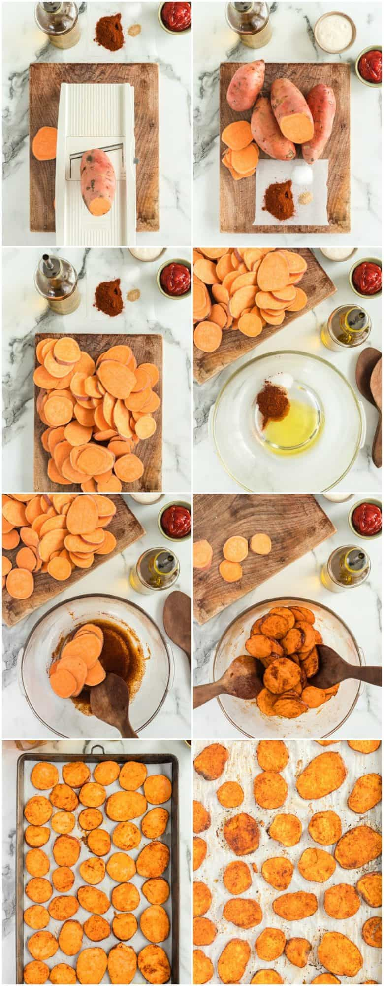 Sweet Potato Chips Recipe Video The Cookie Rookie