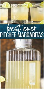 This BEST MARGARITA RECIPE is the only recipe for margaritas you will ever need! This Perfect Margarita Pitcher Recipe is perfect for serving a crowd, made with simple and fresh ingredients, and utterly delicious. There has never been a more perfect margarita! We have written the margarita recipe to serve one or as many as 12. You decide how many of the BEST Margaritas you want to share.