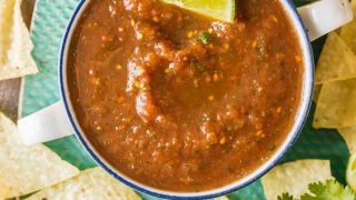 Blender Salsa Recipe - Easy Homemade Salsa