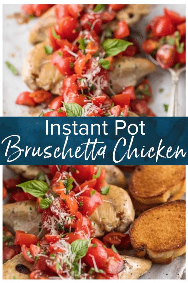 instant pot bruschetta chicken pinterest photo