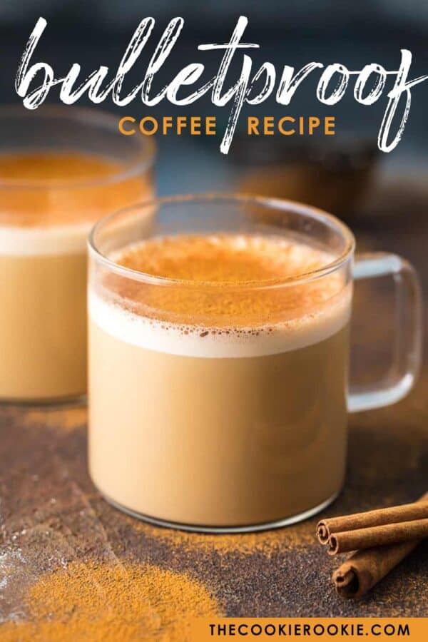bulletproof coffee pinterest image