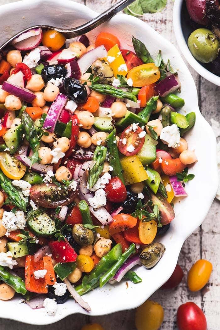 Spring Orzo Salad foto