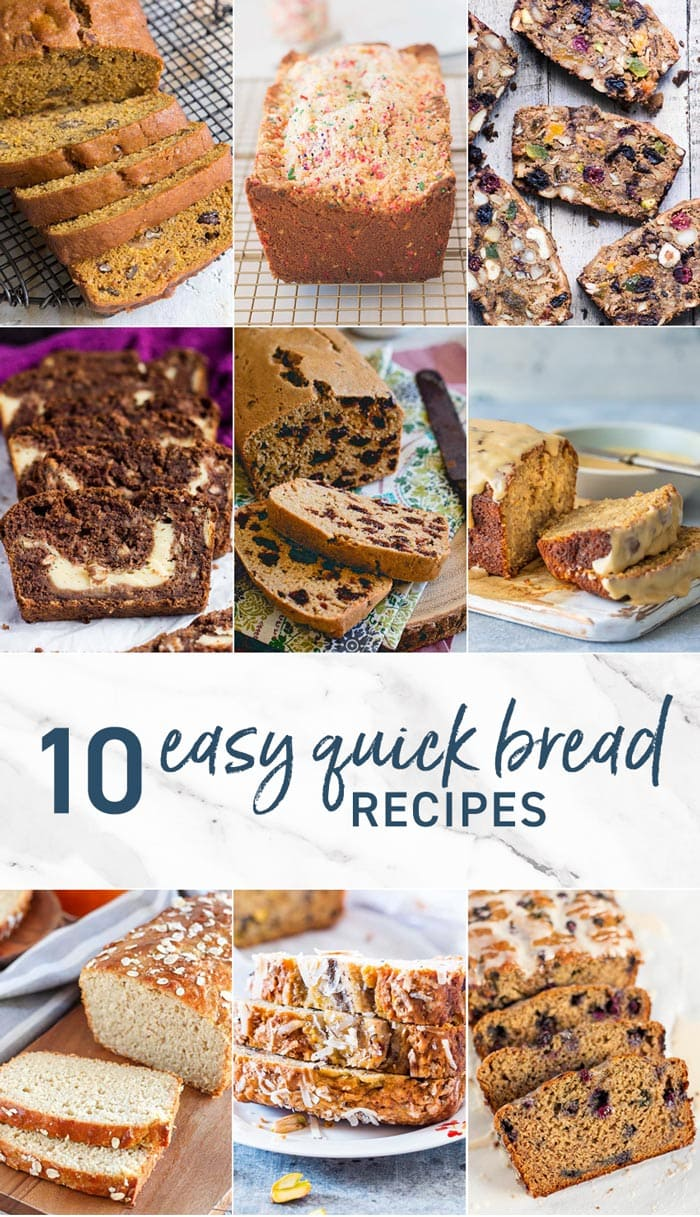 10 Easy Quick Bread Recipes