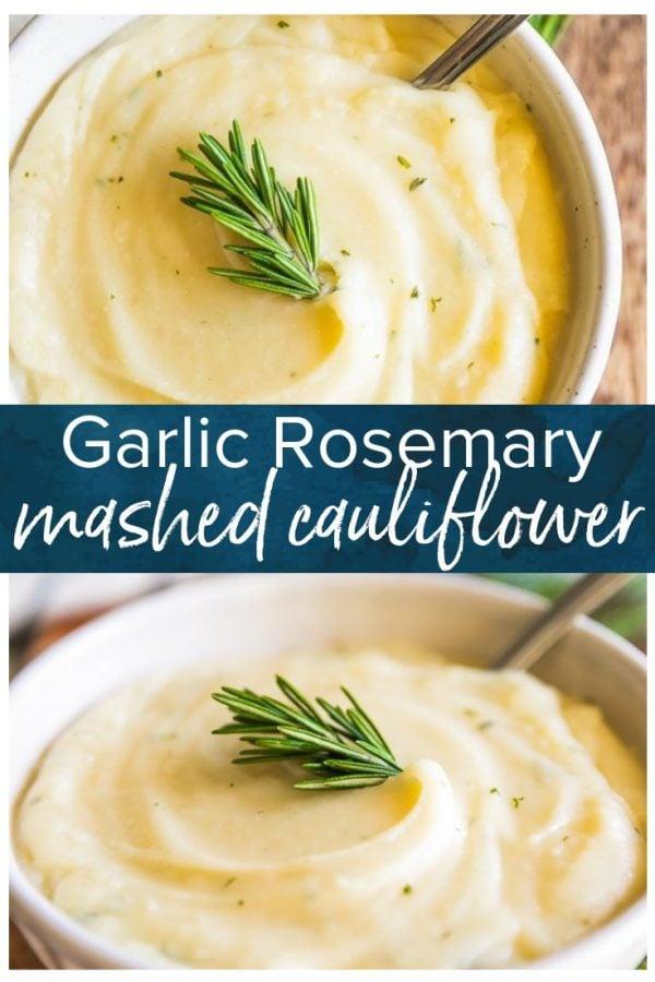 garlic mashed cauliflower pinterest photo