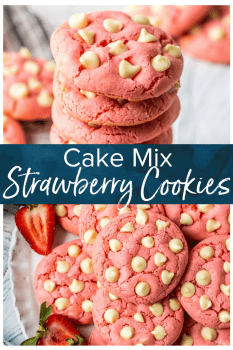 strawberry cookies pinterest collage