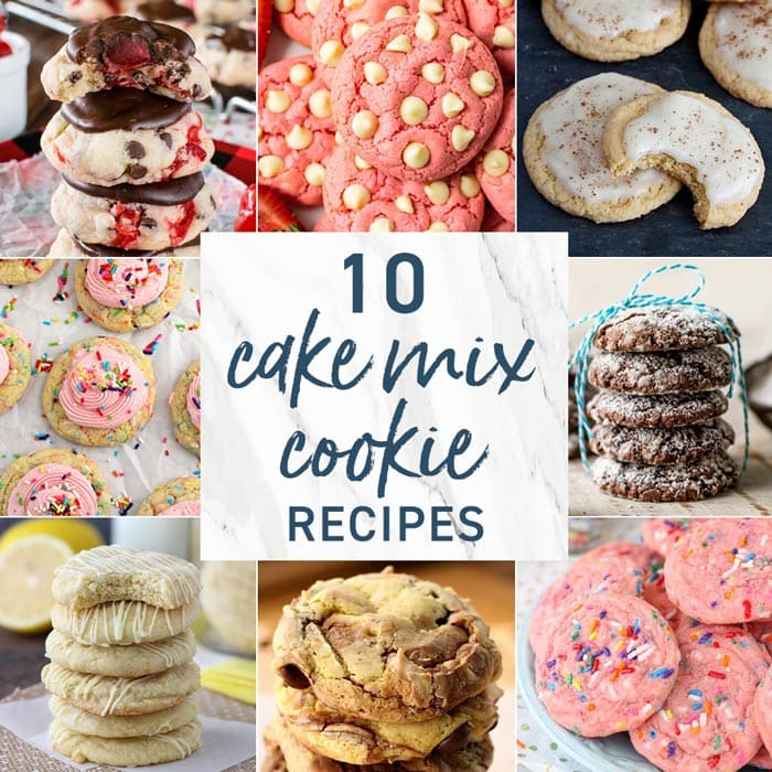 All Recipe Cake Mix Cookies