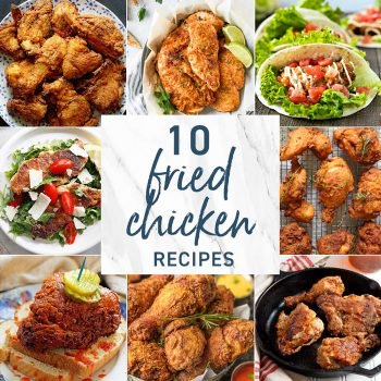 10 Fried Chicken Recipes