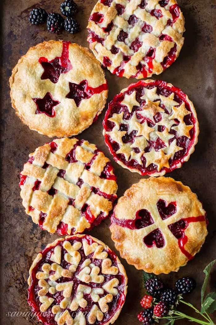 Blackberry Tarts | Saving Room For Dessert