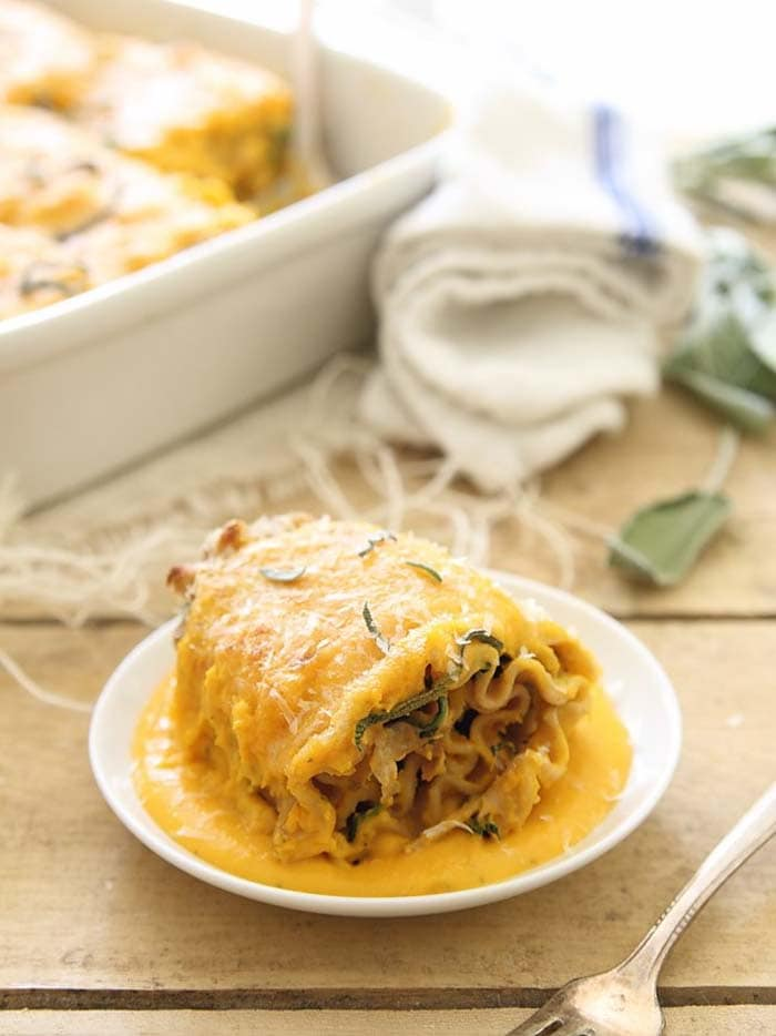 Butternut Squash Lasagna Roll-Ups | Running to the Kitchen