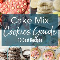 Cake Mix Cookies are an easy way to enjoy bakery style freshly baked cookies in your own home with practically zero effort. Making Cookies from Cake Mix means you don't have to do any measuring and you simply can't mess up. Fluffy, flavorful, amazing cookies every time. Learn How to Make Cookies from Cake Mix in any flavor combination. The best Easy Cake Mix Cookie Recipes are all right here!