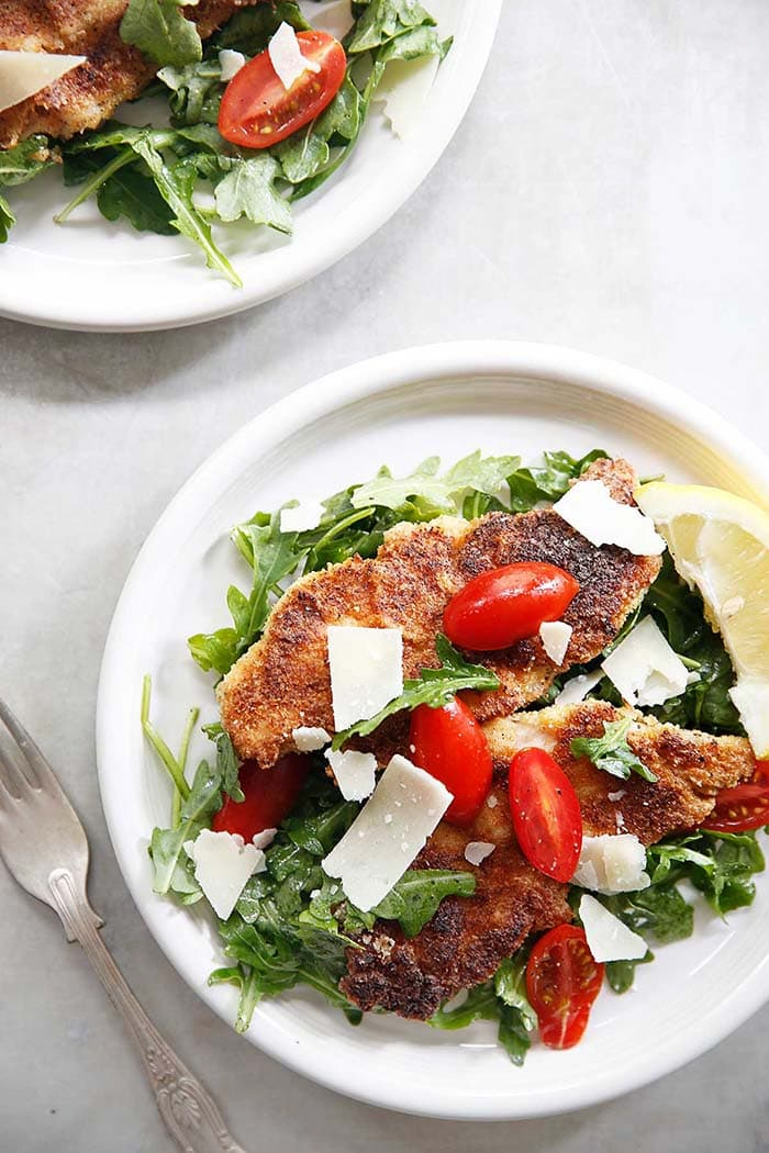 Paleo Chicken Milanese | Lexi's Clean Kitchen