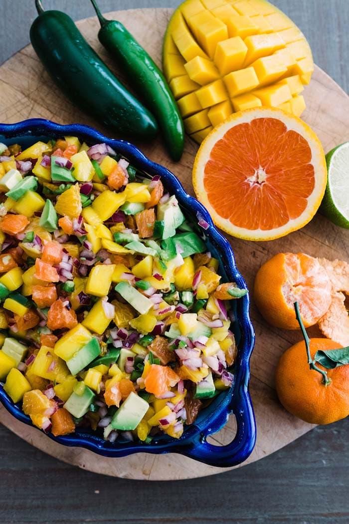 Citrus, Mango, and Avocado Salsa | Muy Bueno