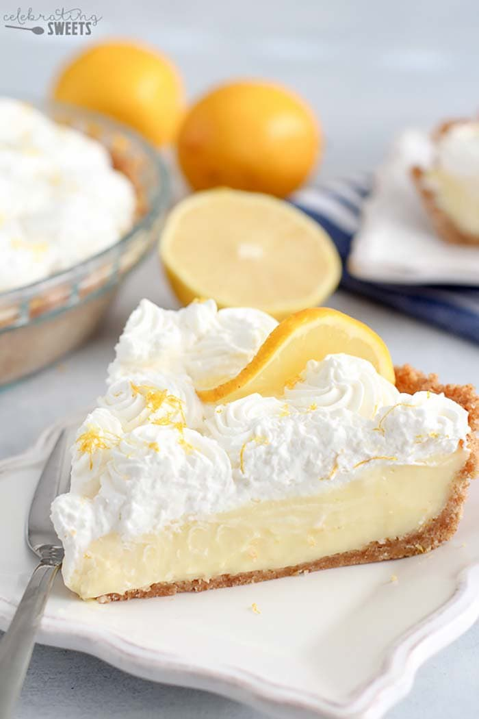 Lemon Cream Pie | Celebrating Sweets