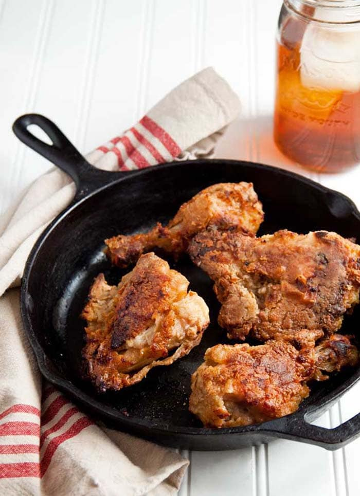 Sweet Tea Oven Fried Chicken | Dessert for Two