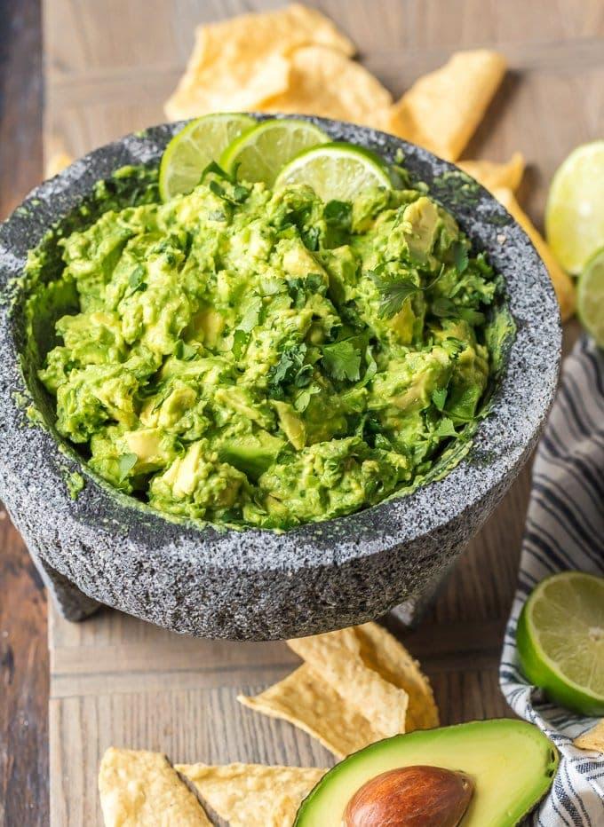 chunks guacamole dip