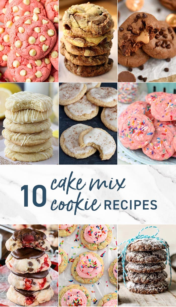 Cake Mix Cookies Guide 10 Easy Cake Mix Cookie Recipes Video