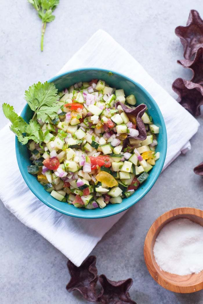 Cucumber Salsa | Wholefully