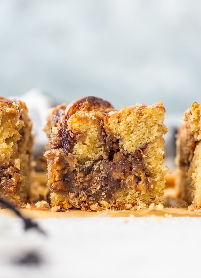 Close up of peanut butter and jelly snack cakes