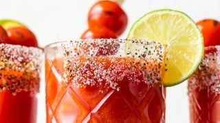 Roasted Tomato Margaritas Recipe