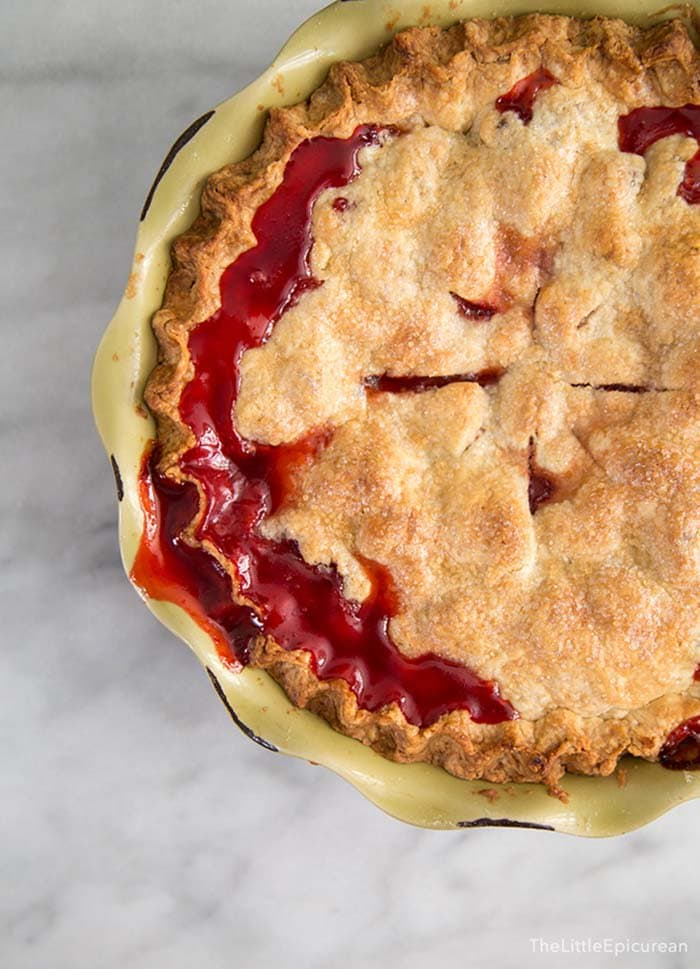 Strawberry Pie | The Little Epicurean