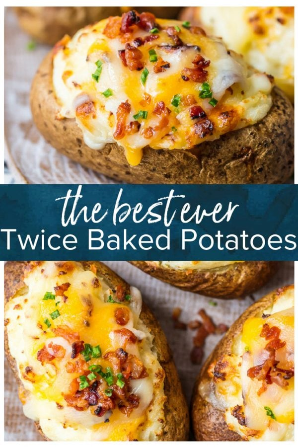 twice baked potatoes pinterest image
