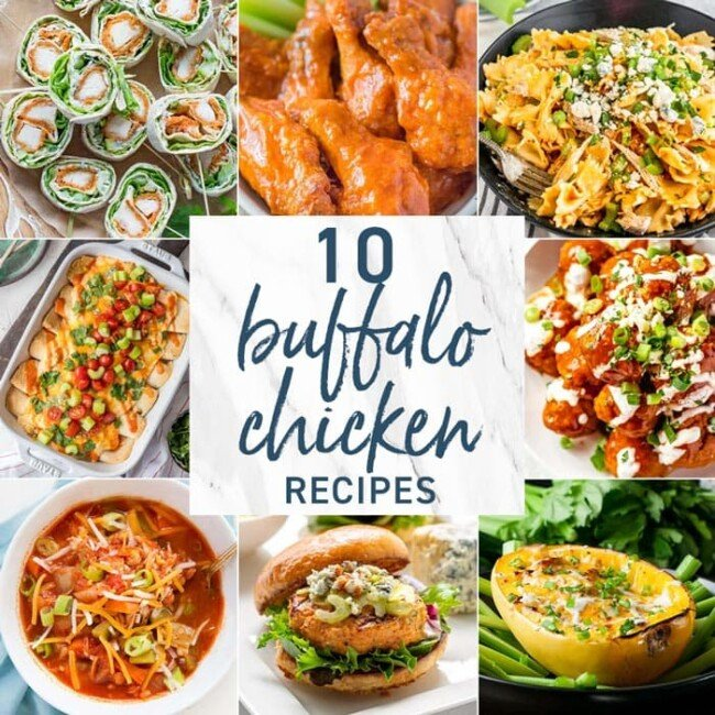 10 Buffalo Chicken Recipes