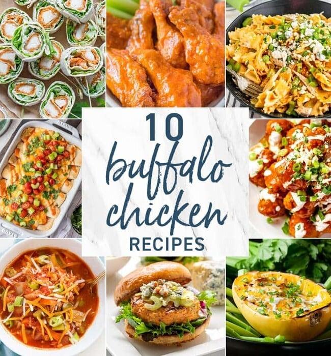 10 Buffalo Chicken Recipes
