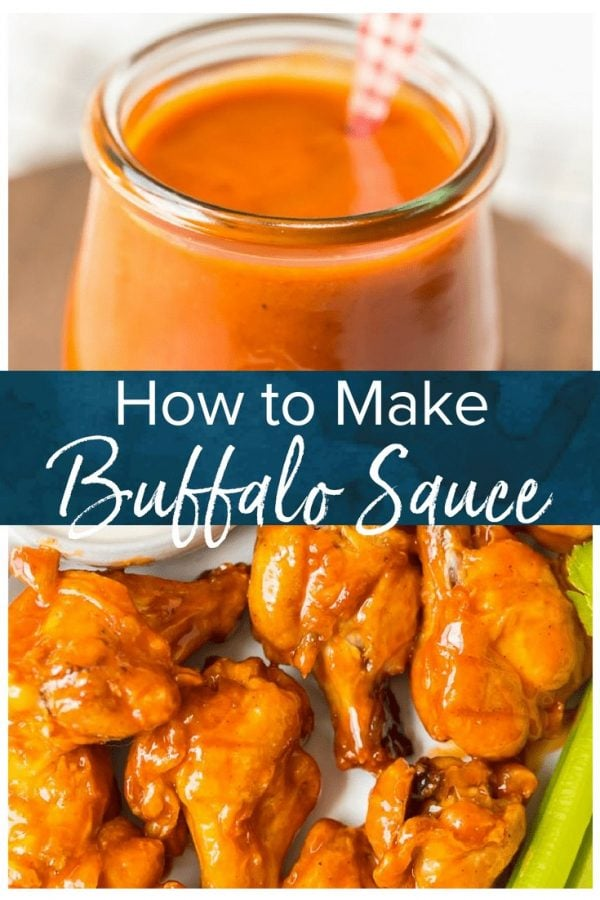 Learn How to Make Buffalo Sauce to make your buffalo wings even tastier! This Homemade Buffalo Sauce Recipe is super easy and quick to make. It's hot and tasty, and it's going to take your buffalo wings to the next level. You can also use this delicious buffalo wing sauce on other recipes, or use it as a dip for your favorite appetizers!