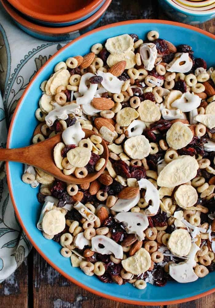 Easy Breakfast Trail Mix | A Cedar Spoon