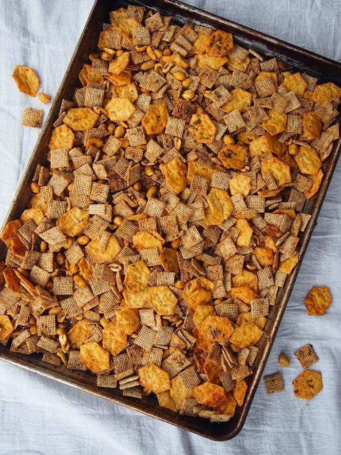 Whole Grain Chex Mix | Rachael Hartley Nutrition