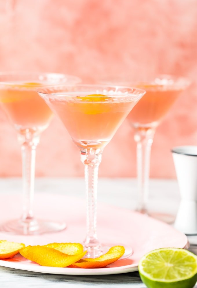Best Cosmo Recipe for a crowd! 3 cosmopolitan cocktails