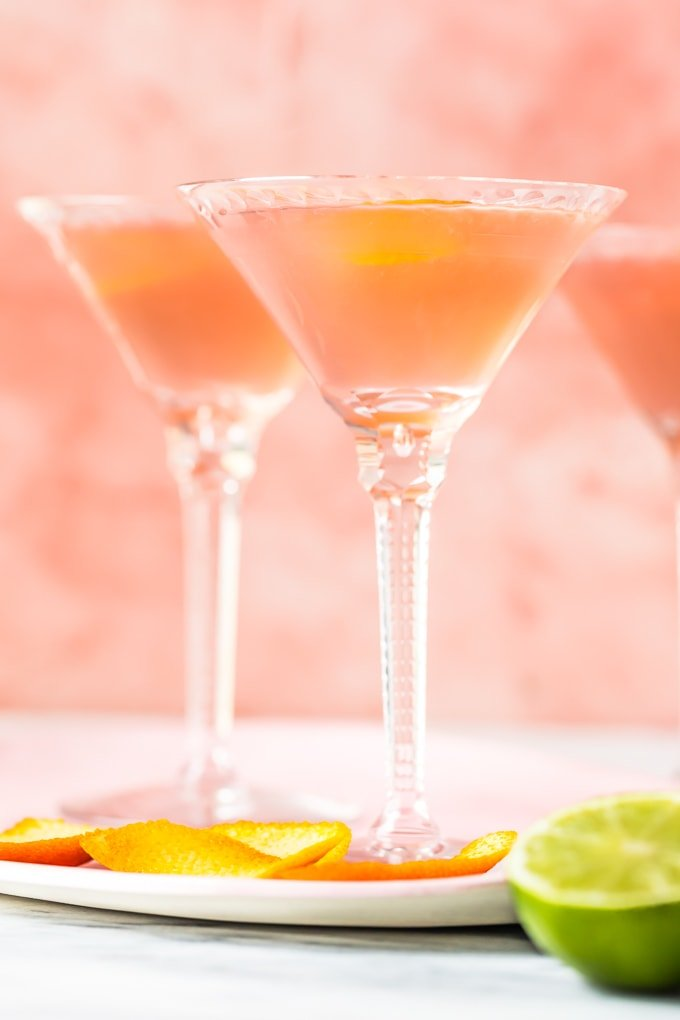 How to make a cosmo for one or for 6 people