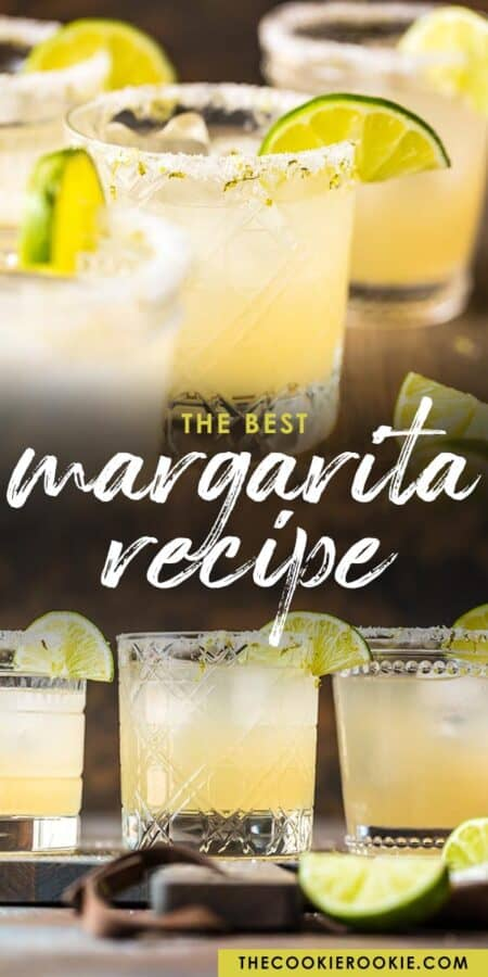 best margarita recipe pinterest collage