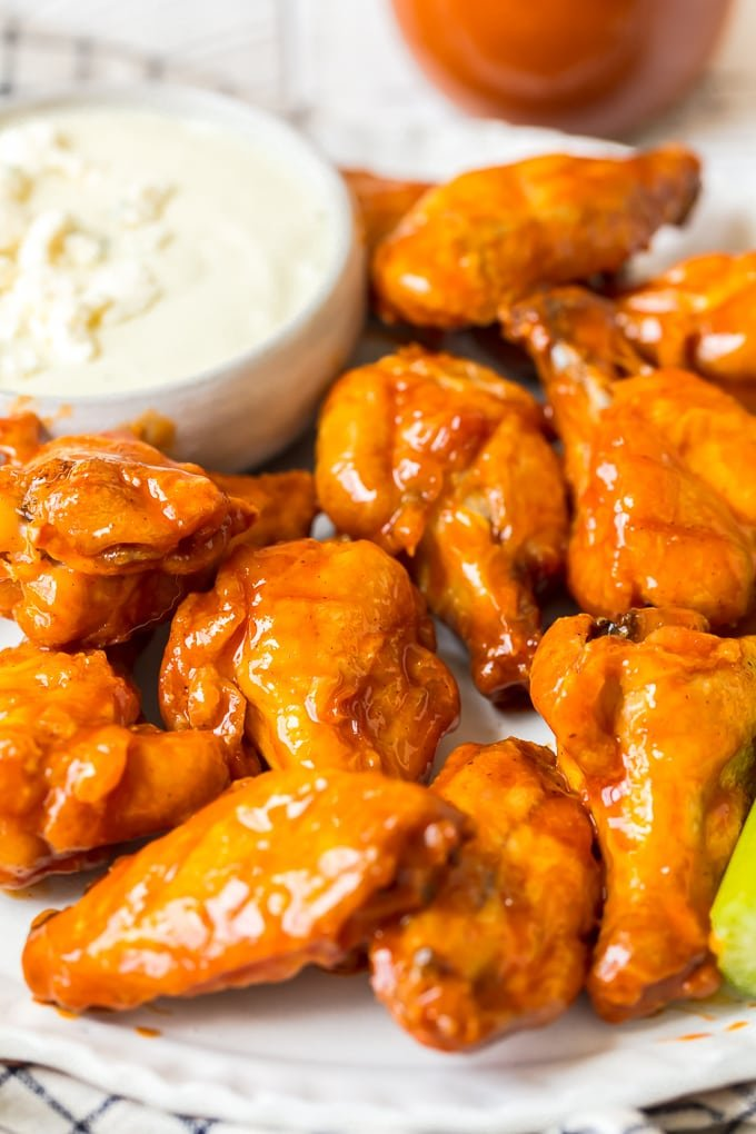 Buffalo Wings Recipe Video Baked Buffalo Chicken Wings