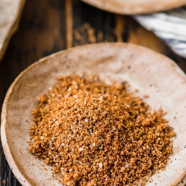 This dry rub recipe is the best dry rub for pork tenderloin, pork chops, or other cuts of pork. The mix of herbs & spices naturally complements the meat & fills it with flavor!