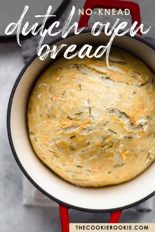 dutch oven bread pinterest image