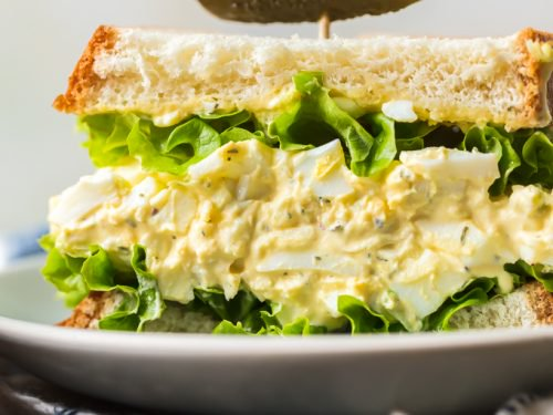 Egg Salad Recipe With Vegetables