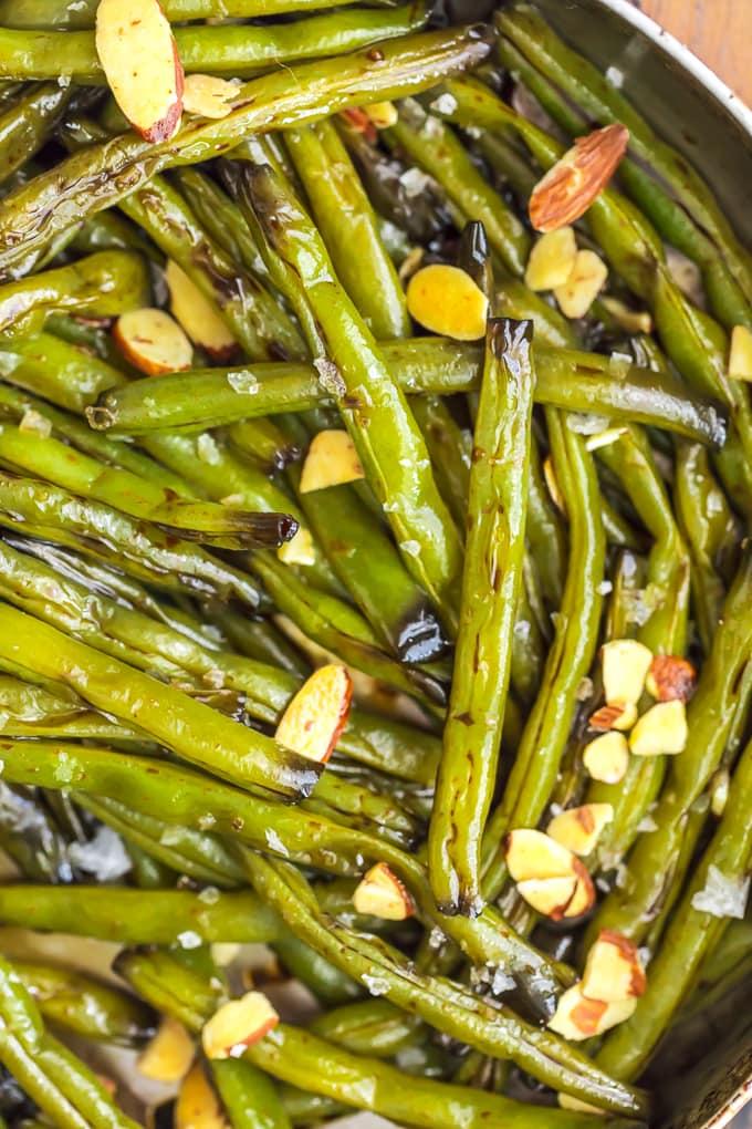 Molasses green beans